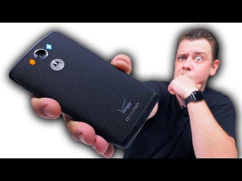 Смартфон Из Баллистического Нейлона с NFC и на Snapdragon за 5500 рублей. Motorola Droid Turbo