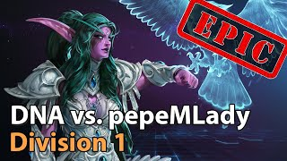 ► pepeMLady vs. DΝA - Division1 HeroesLounge - Heroes of the Storm Esports