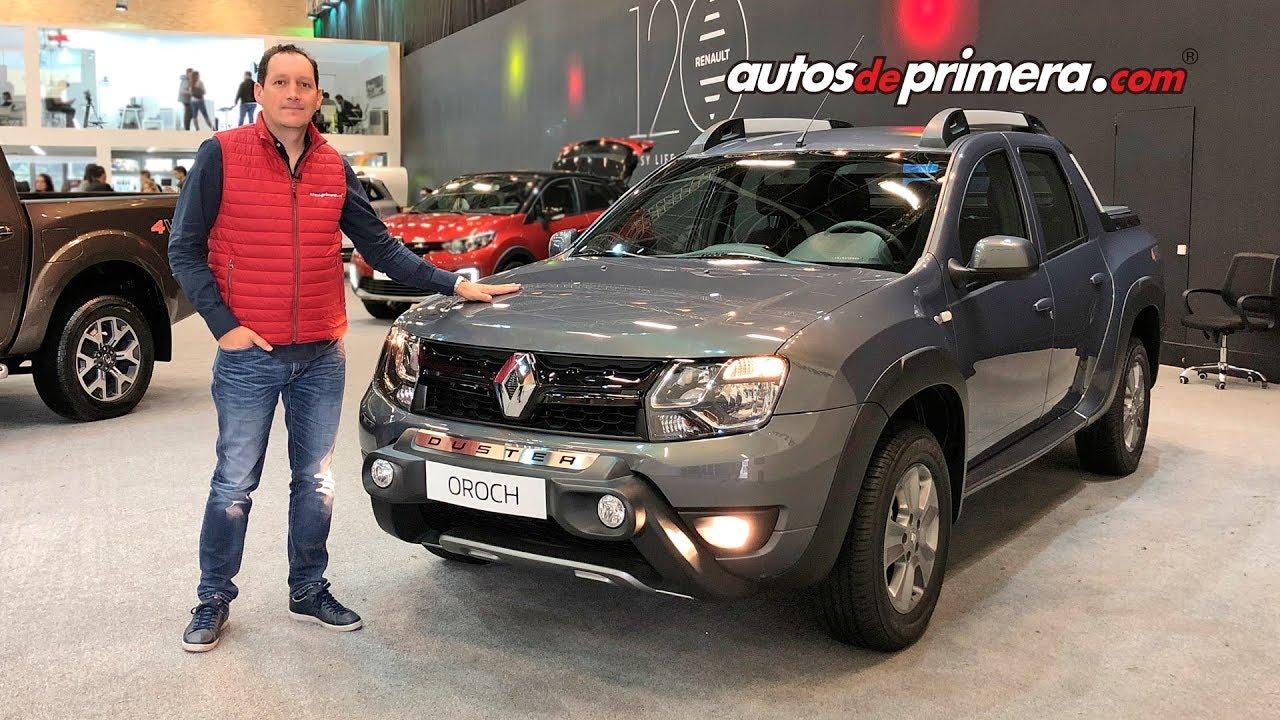 Renault Duster Oroch 4x4  Se Amplia La Gama De Esta Exitosa Pick Up En Colombia
