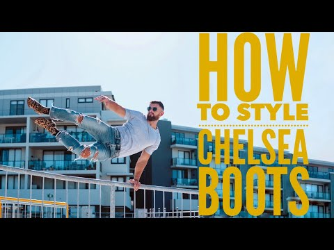 How To Style Chelsea Boots (4 ways) | Nathan McCallum