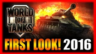 Tank and Spank! World of Tanks HD (PC) First Look Gameplay! 2016