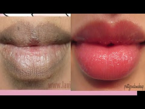 GET SOFT PINK LIPS NATURALLY IN 10 MINUITES |PEEL OFF LIP ...
