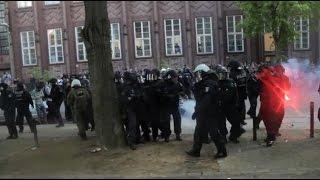 6.000 Menschen stoppen Nazis in Berlin Kreuzberg