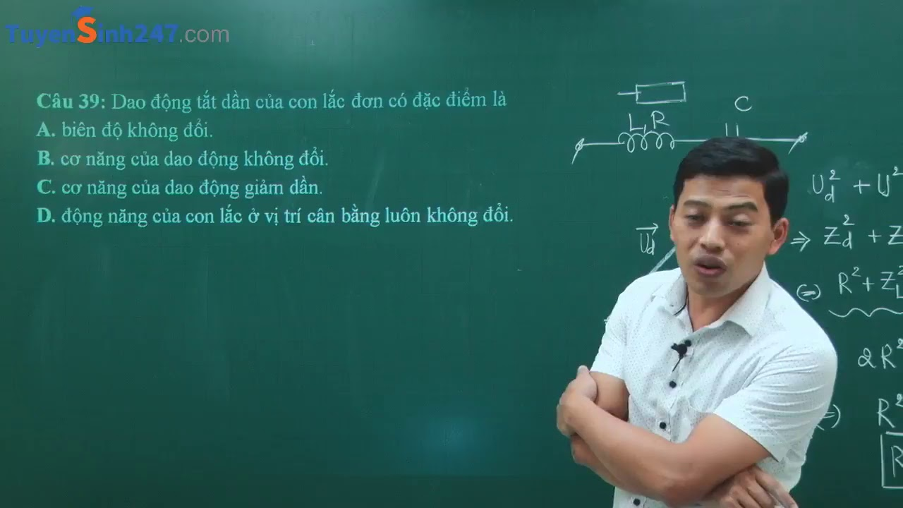 Ôn tập kiểm tra học kì I – Vật Lí 12 – Giáo viên : Phạm Quốc Toản