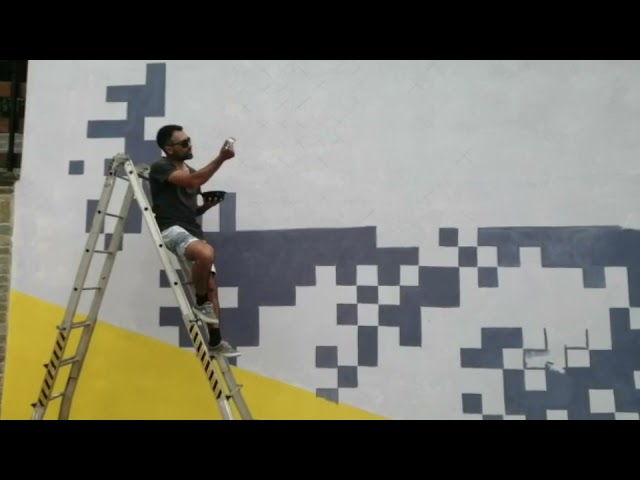 A Moiola la residenza artistica dello street artist Krayon