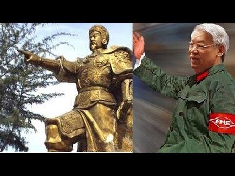 Nguyễn Phú Trọng ra lệnh đập phá tượng Trần Hưng Đạo ?