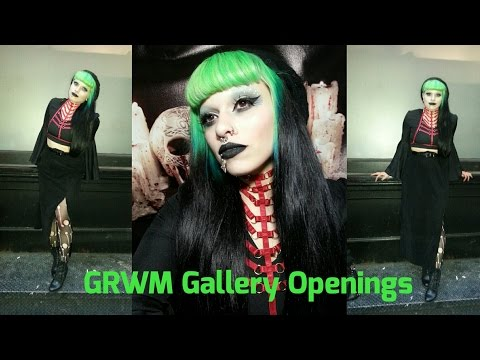 Makeup/Outfit for Art Gallery Openings
