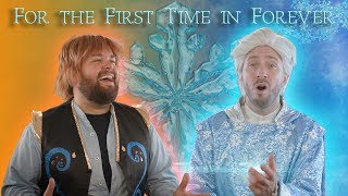 For the First Time in Forever Male Cover Ft. Peter Hollens