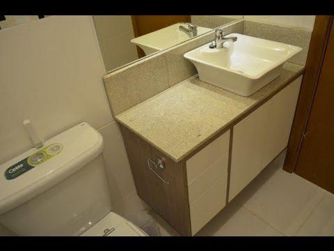 Banheiro Planejado Cerezo Com Luz De Led