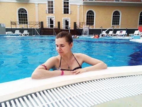 VLOG: Выходные за городом, бассейн, катание на роликах, база отдыха Баден-Баден Лесная Сказка