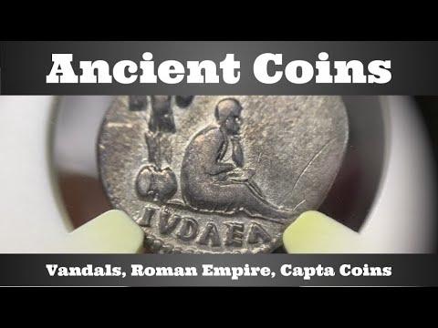 Download Ancient Coins - Vandals, Roman Empire, Capta Coins - NGC Ancients