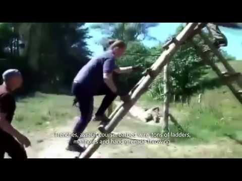 """Marusin Military Ground"" - Training camp of ""Praviy Sektor"""