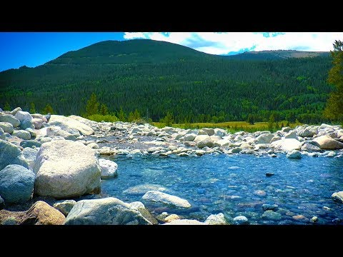 Mountain River Water Sounds | Sleep, Study, Focus, Relax to Nature White Noise | 10 Hours