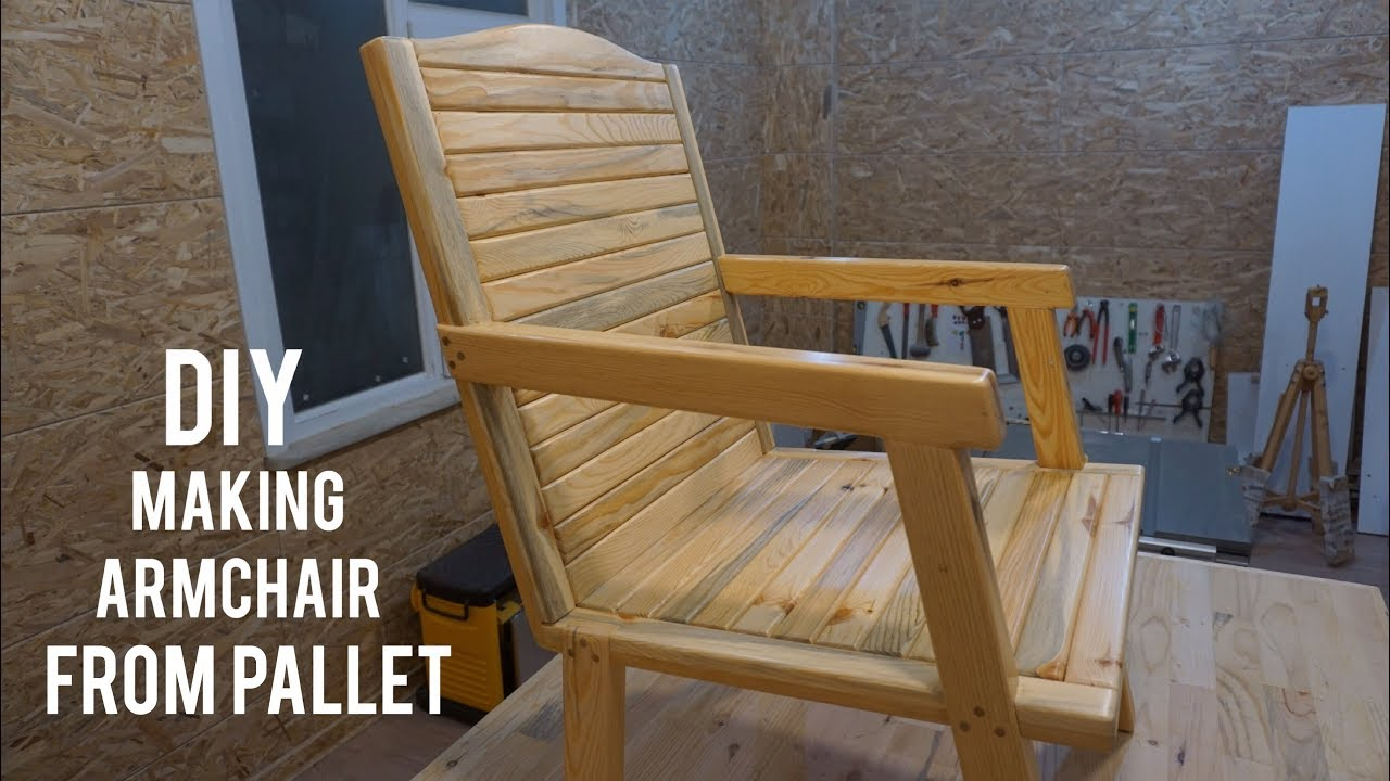 Paletten bank yapımı / Making bench from pallets / Banco de palets ...