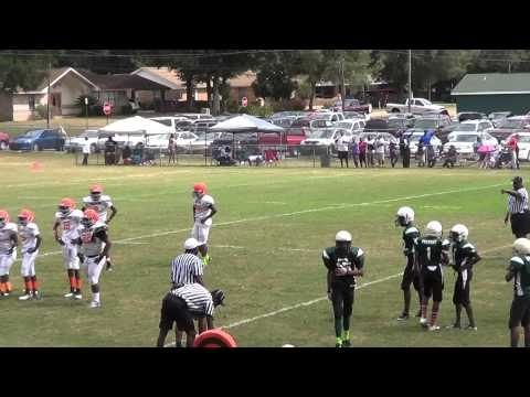 14u Browns vs Eagles (Myrtle Grove) 1st Q