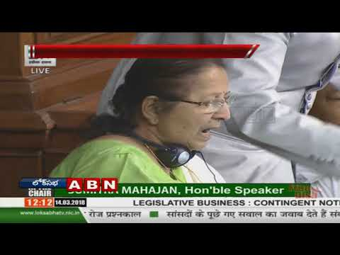 TDP & YCP MPs Protest in Lok Sabha,Demand For AP Special Status