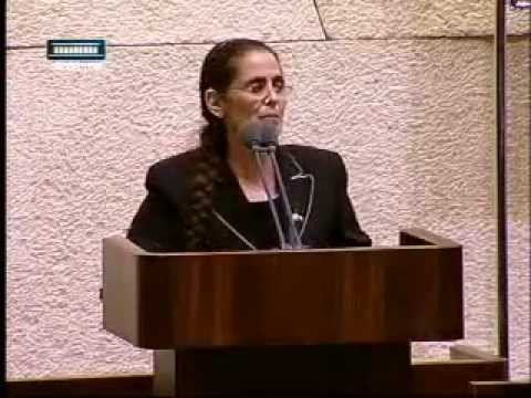 MK Dr. Anat Berko mentions a few historical facts to MK Tibi