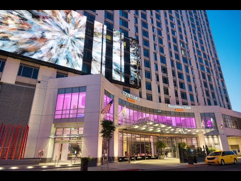 courtyard-by-marriott-los-angeles-la-live-2-queen-room-review