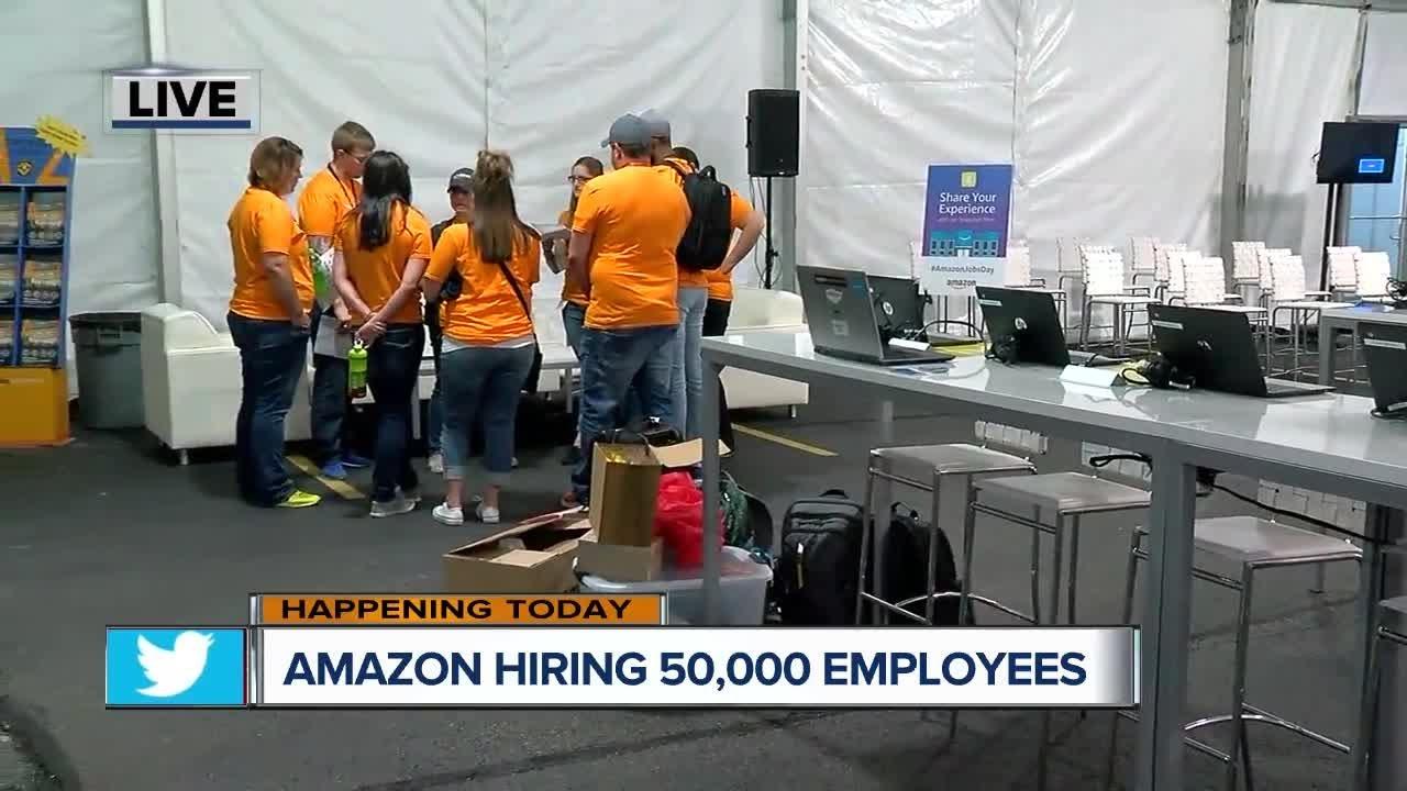 Amazon Hosting Giant Job Fair In Hebron Wednesday With