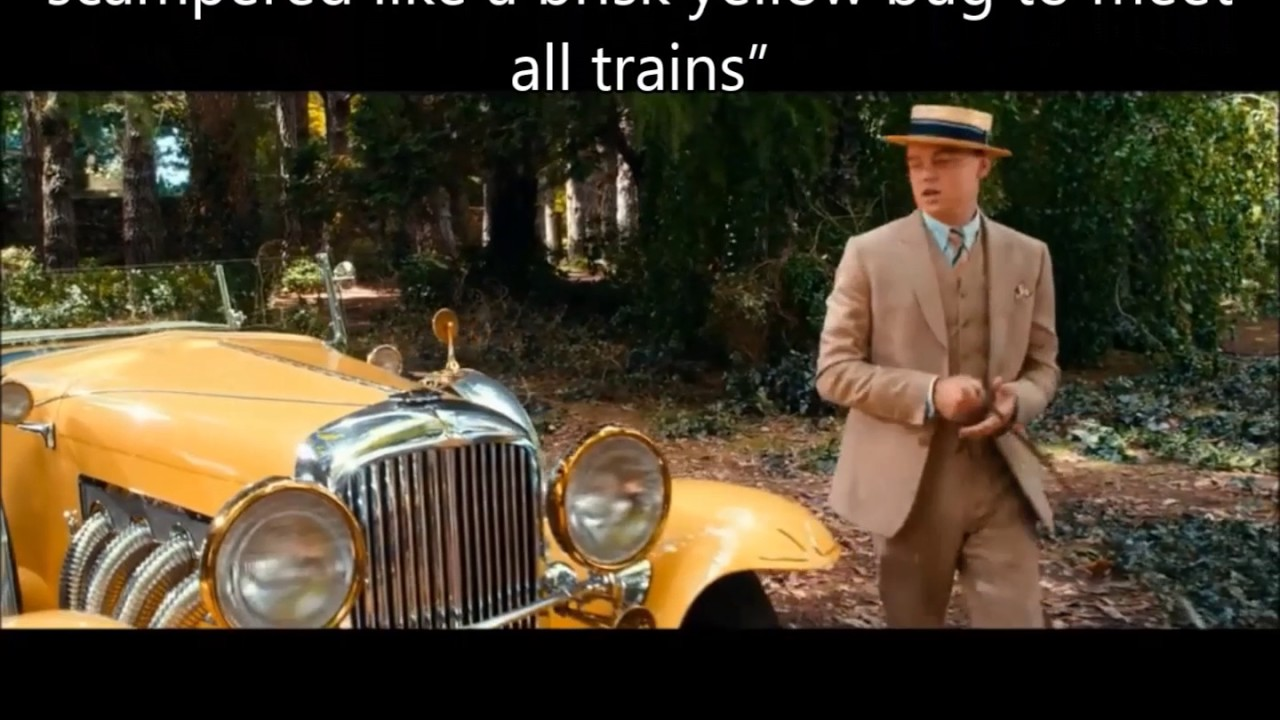 Great Gatsby Quotes | Symbols And Quotes From The Great Gatsby Youtube