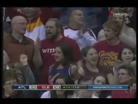 Anderson Varejao First 3 pointer of his Career