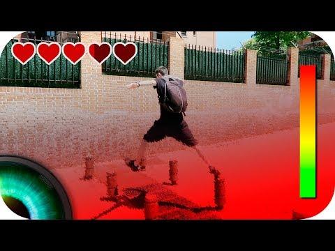 Videojuego en la vida real | The floor is LAVA