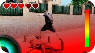 Videojuego en la vida real | The floor is LAVA