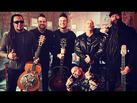 Five Finger Death Punch - Behind The Scenes - Blue On Black Video Shoot