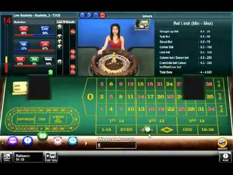 Roulette croupier en direct poker face testo e traduzione