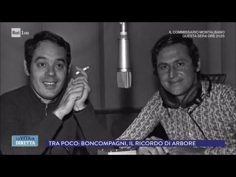 La storia di Gianni Boncompagni, innovatore della tv - La vita in diretta 16/04/2018