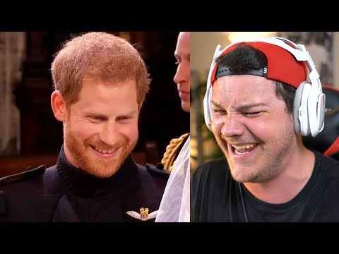 """The Royal Wedding"" A Bad Lip Reading - Reaction"