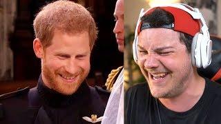 """The Royal Wedding"" A Bad Lip Reading - Reaction"