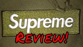 Union House (UNHS) SUPREME BOX LOGO HOODIE IN OLIVE REVIEW!