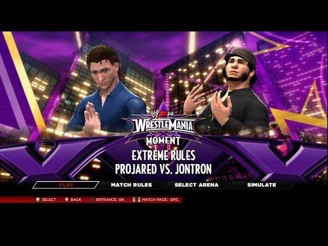 WWE 2K14 - YouTube Tournament (Semifinals) - 13 - ProJared Vs JonTron