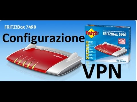 Configurazione <b>VPN FRITZ!Box 7490</b> - YouTube