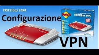 Configurazione VPN  FRITZ!Box 7490