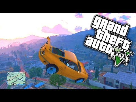 GTA 5 Funny Moments #46 'GATE LAUNCH...