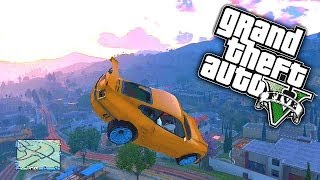 Gta 5 Funny Moments #46 'gate Launch Glitch!' With Ksi, Zerkaa, Mm7games, Behzinga & Tbjzl! (gta V)