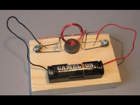 how to make an electric motor at home youtube