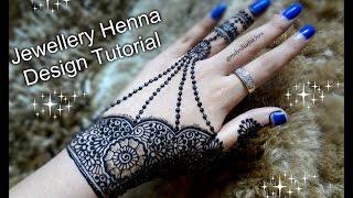 easy diy henna beautiful simple latest jewellery mehndi design tutorial for eid weddings and diwali