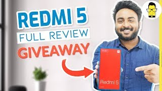 Redmi 5 Full in-depth Review + Giveaway