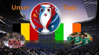 Unser EM Tipp 2016 Belgien Vs Irland Gruppenphase
