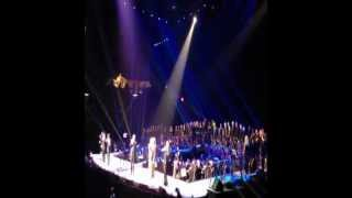 "Barbra Streisand and the Desert Angel Choir ""Make Our Garden Grow/Somewhere"" 11/2/2012"