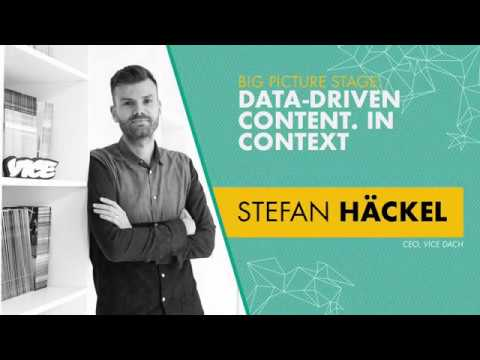 Stefan Häckel, CEO, VICE DACH - Big Picture Stage | OMR18