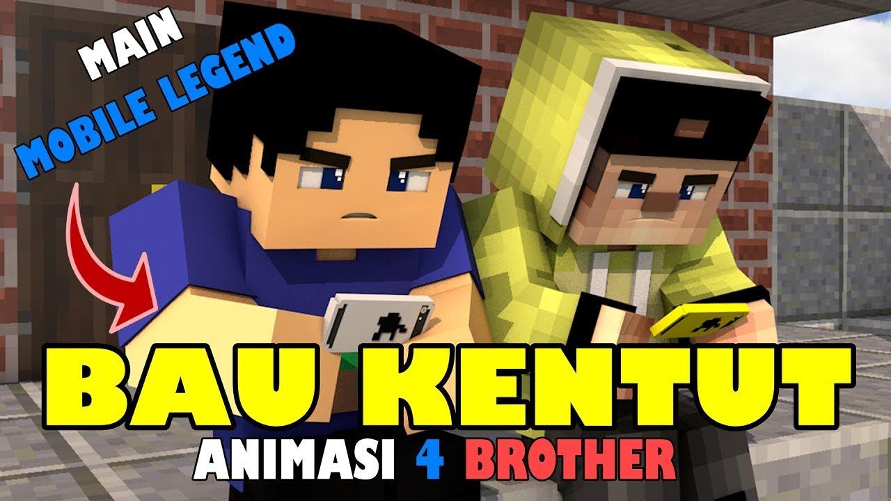 BAU KENTUT ANIMASI LUCU 4 BROTHER
