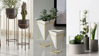 Tall Classy Planet Stand And Pot Ideas | Pvc Pipe Decorate Ideas | Apartment Decor Ideas 2019