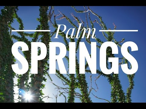 Desert Cinematic Travel Film // Sony a6000 and Zhiyun Crane Cinematic Vacation video of Palm Springs