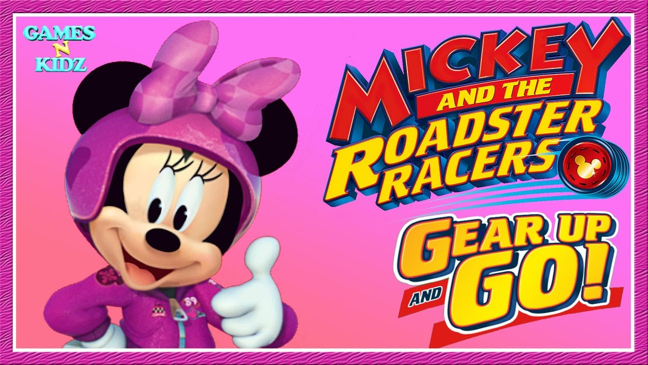 Mickey And The Roadster Racers Minnie Mouse Racing Game Disney Junior App For Kids Youtube