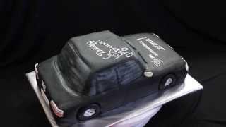 торт машинка Пежо 605