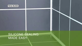 Silicone Sealing Made Easy -- Hints and Tips